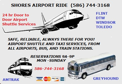 Airport Shuttle Macomb Mi To Dtw Airport Affordable